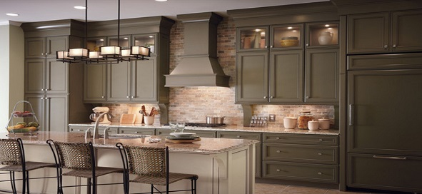 Traditional Kitchen Cabinets that bring Graceful Look to your House