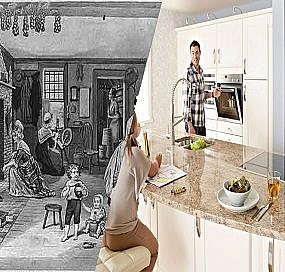 The Past and Future of Kitchen Cabinets